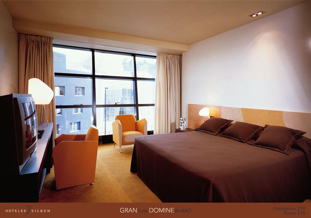 silken gran hotel domine bilbao room
